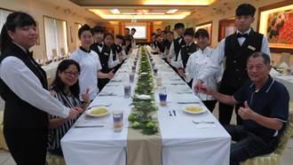 達德商工餐飲科畢業展 邀請老師家長吃西餐
