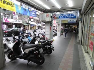 中和景新街部分路段  5月13日起實施機車禁停騎樓