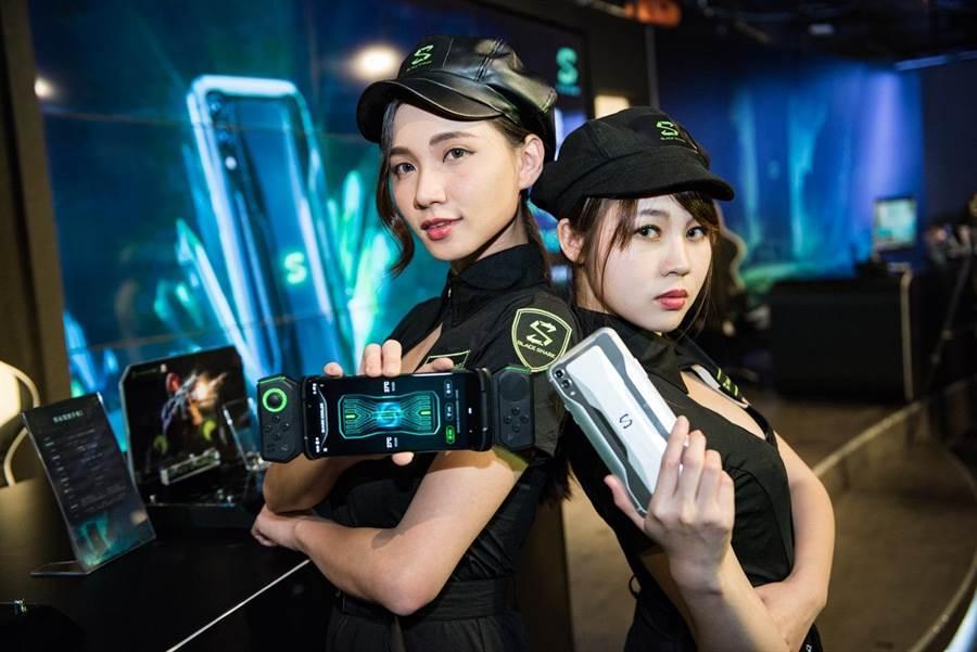 黑鯊2電競手機殺進台灣。(圖/業者提供)