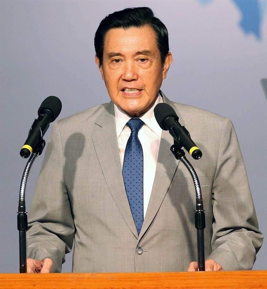 前總統馬英九再度被民進黨推出來背鍋。(資料照.范揚光攝)