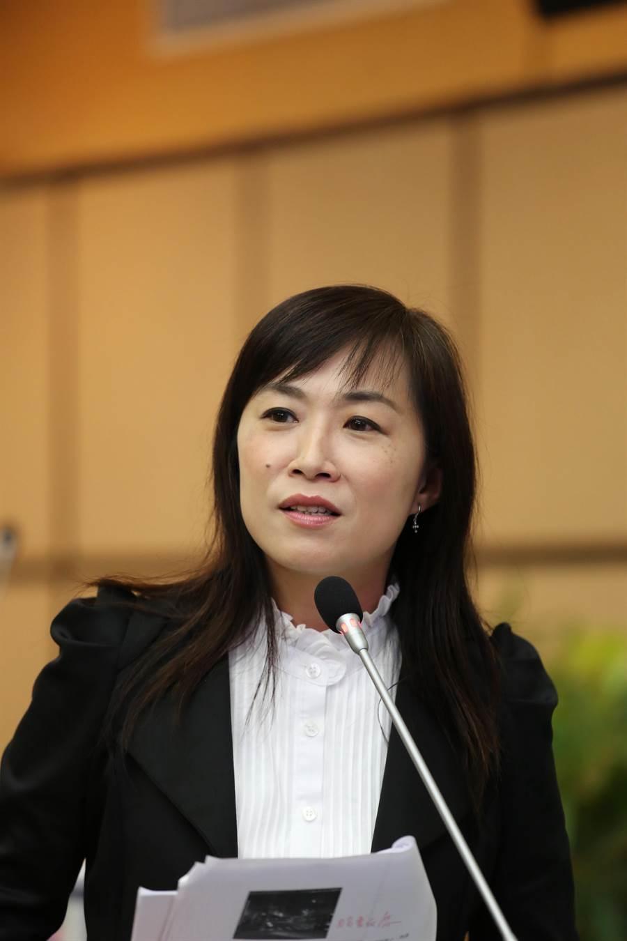 民進黨台南市第四選區立委初選,現任台南市議員林宜瑾勝出。(資料照片)