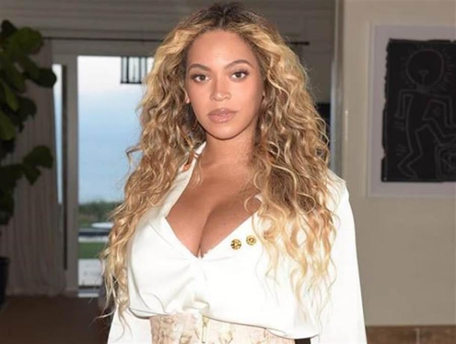天后碧昂絲產後曾胖到98公斤。(圖/Beyoncé IG)