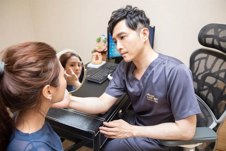 圖說:「結構式線性拉提」療程改善鬆垮皮膚,最受媽媽們青睞。