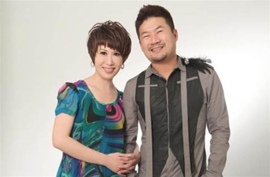 陳斐娟當年與廖慶學主持節目爆紅。(取自臉書)