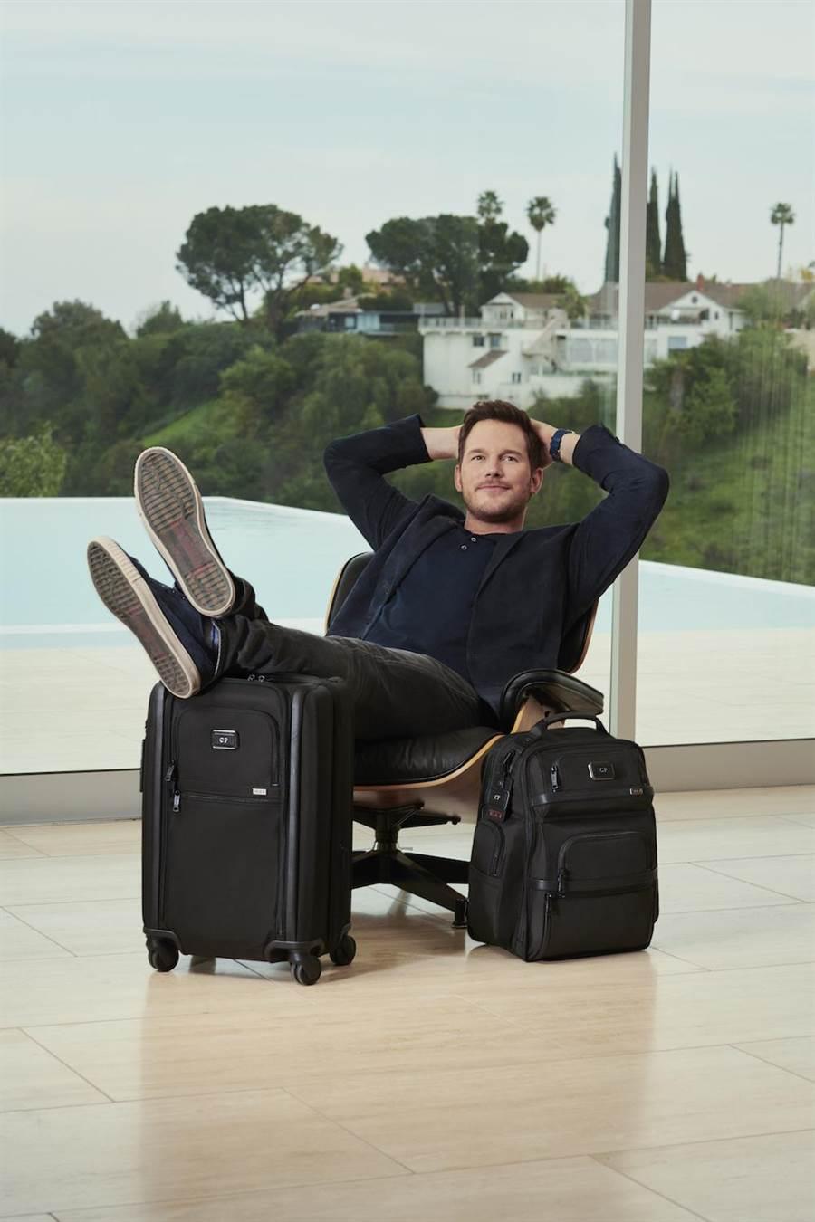 克里斯普瑞特擔任TUMI亞太及中東區品牌大使。(TUMI提供)