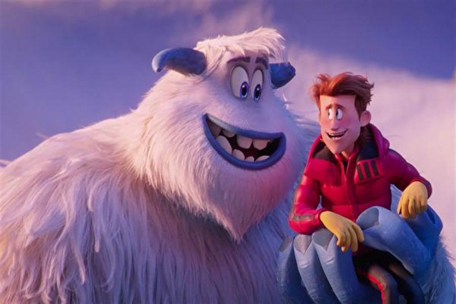 雪人、大腳怪已經成為奇幻故事的一種素材,2018年動畫「小腳怪」就以雪人為題材。(圖/華納兄弟)