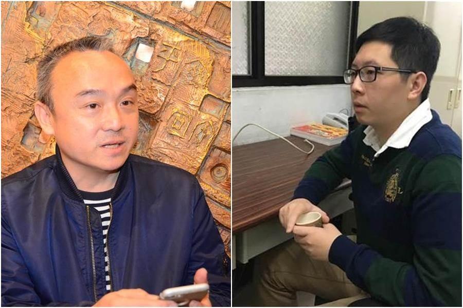被潘恒旭(圖左)封鎖就玻璃心碎回嗆!王浩宇(圖右)反遭網友虧幼稚霸主。(資料照)
