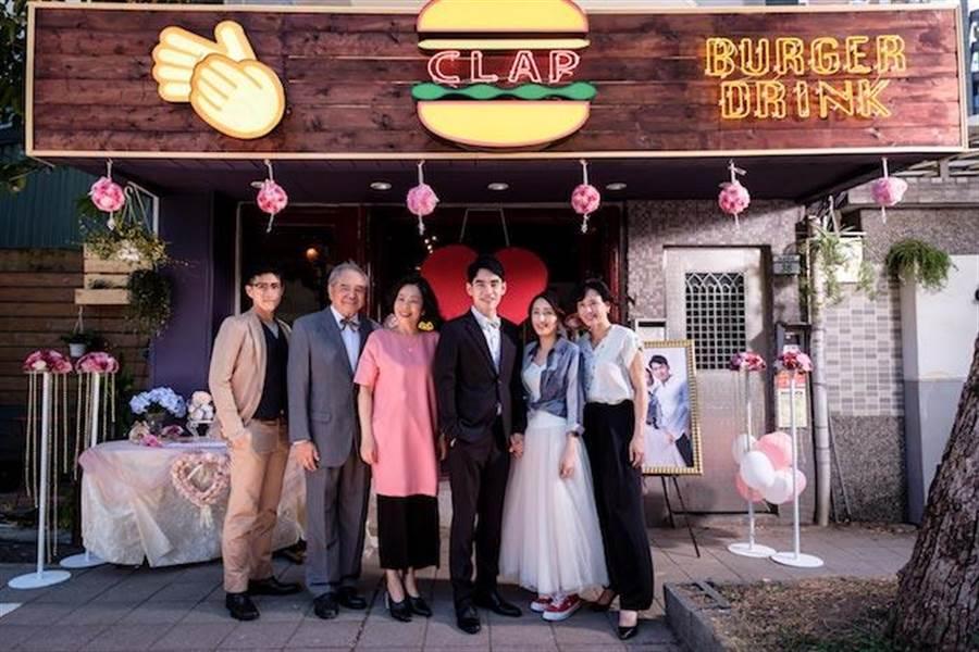 左起吳岳擎、陶傳正、陳幼芳、張書豪、柯佳嬿、涂善妮。歐銻銻娛樂提供