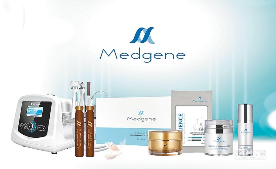 美光生醫Medgene(美德基因)。圖/美光提供 文/周榮發