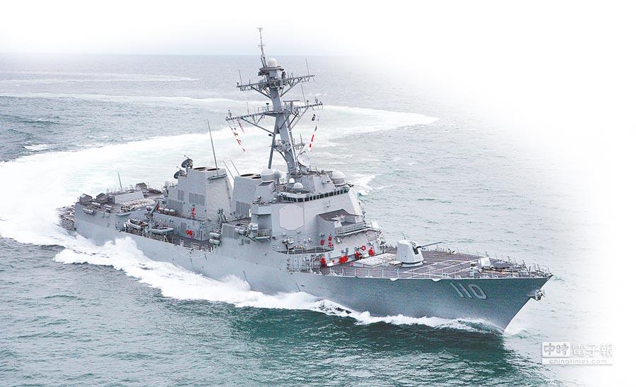 美軍飛彈驅逐艦威廉勞倫斯號(USS William P. Lawrence,DDG-110)。(取自美國海軍官網)