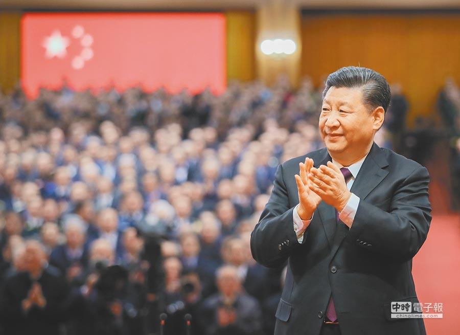 大陸國家主席習近平曾在一次會議上引用《權力遊戲》中的名言。(新華社資料照片)