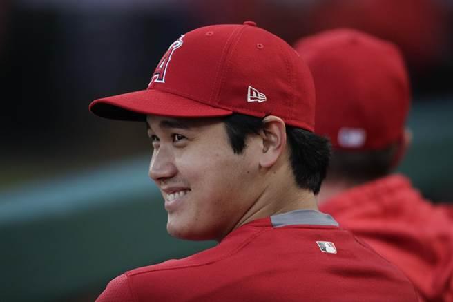 大谷翔平若成功取得本季二刀流球員資格,對天使隊是一大優勢。(美聯社資料照)