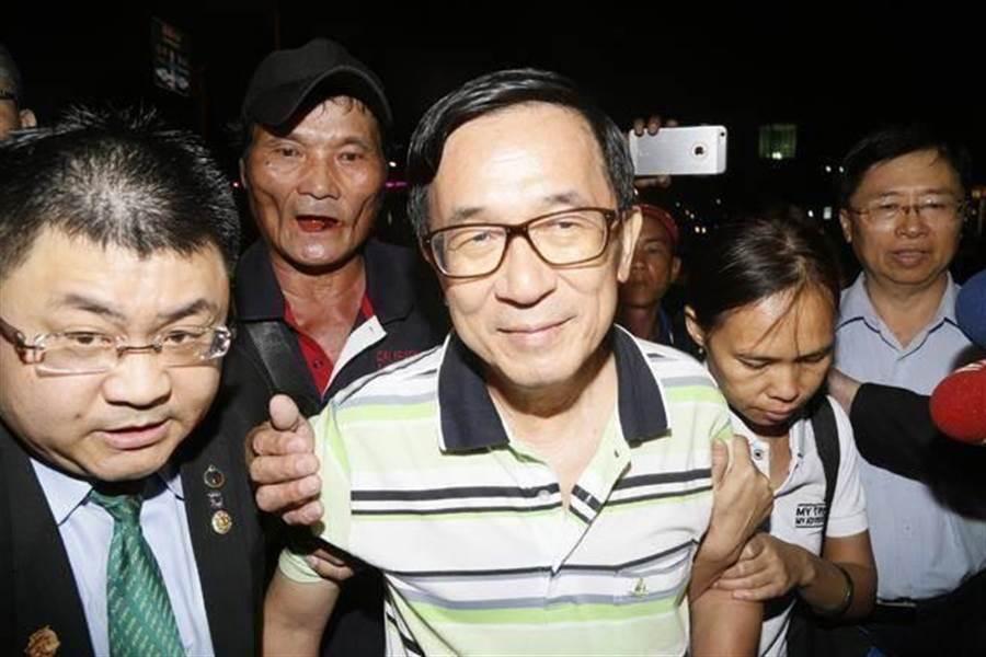 前總統陳水扁。(中時資料照)