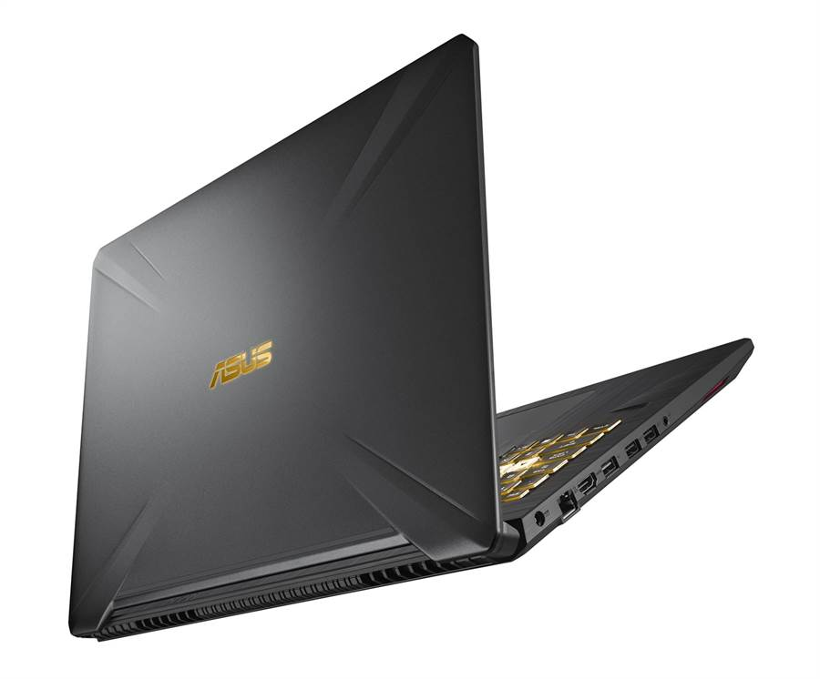 ASUS TUF Gaming FX505 AMD處理器搭配NVIDIA顯示卡 120Hz vIPS等級面板享流暢遊戲體驗。(圖/華碩提供)