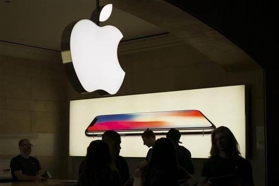 蘋果公布第2季財報,營收衰退5%,被外界視為利空出盡。(中新社)