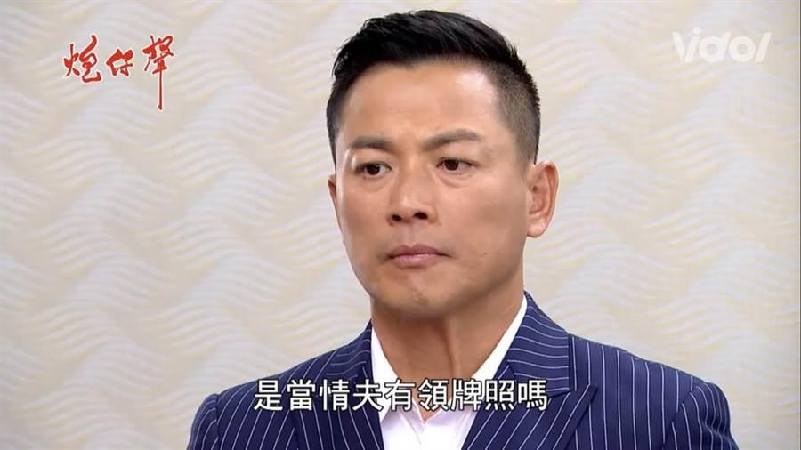 江宏恩在《炮仔聲》飾演蔡韻如情夫江宏傑。(翻攝VIDOL)