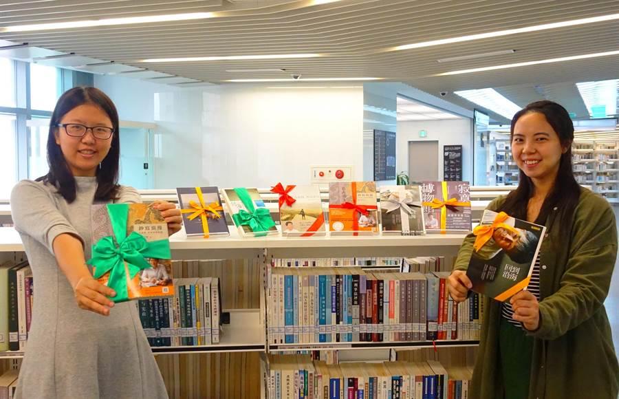 新北市立圖書館本周末將於全市25分館同步舉辦好書交換大會。(王揚傑翻攝)