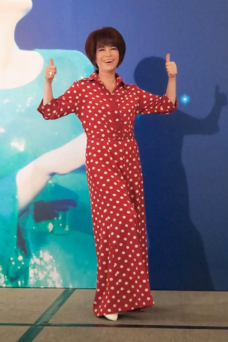 蔡琴8月在台北開演唱會。(宜辰整合行銷提供)