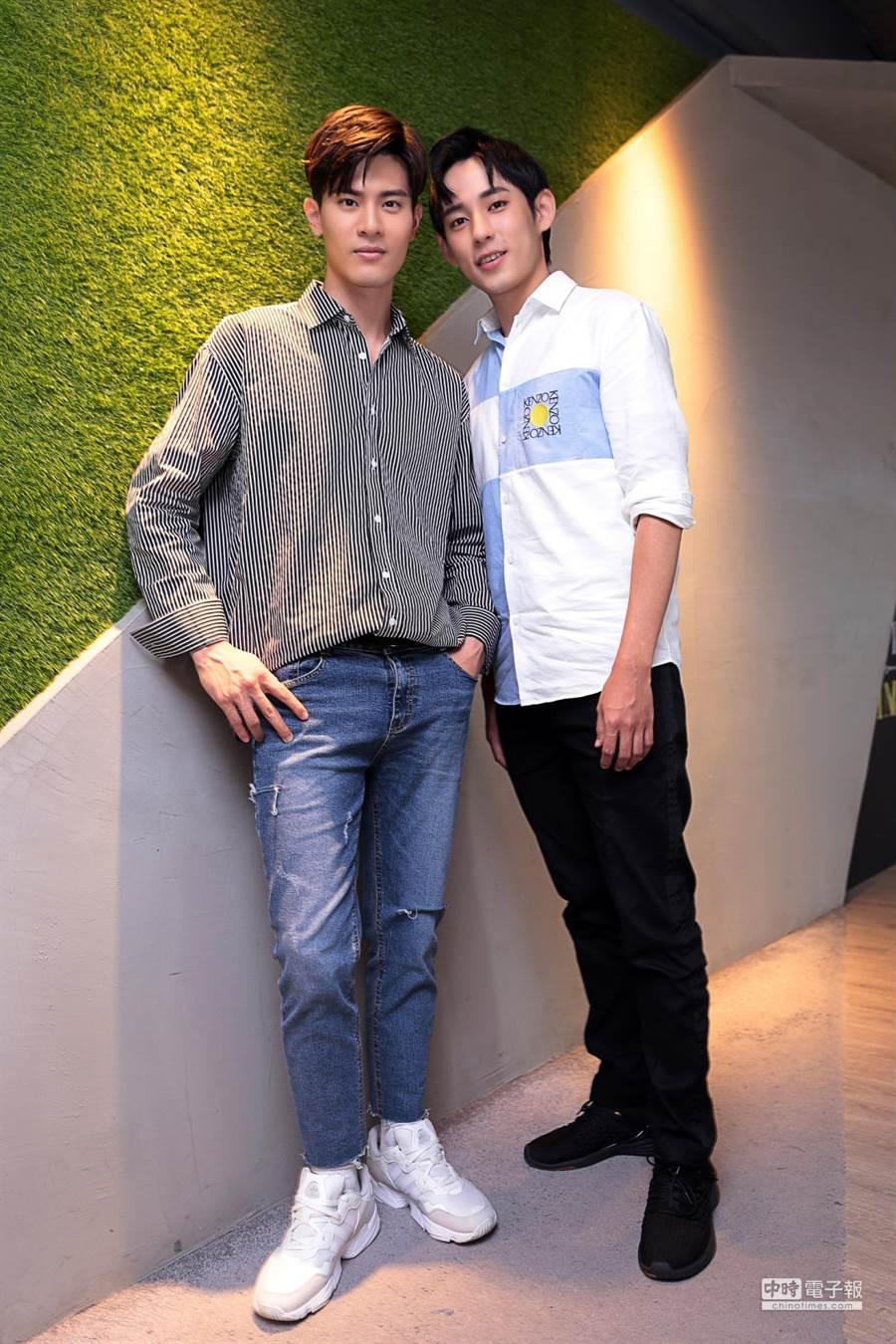 徐鈞浩(右)、吳承洋(左)。(圖/記者廖映翔攝)