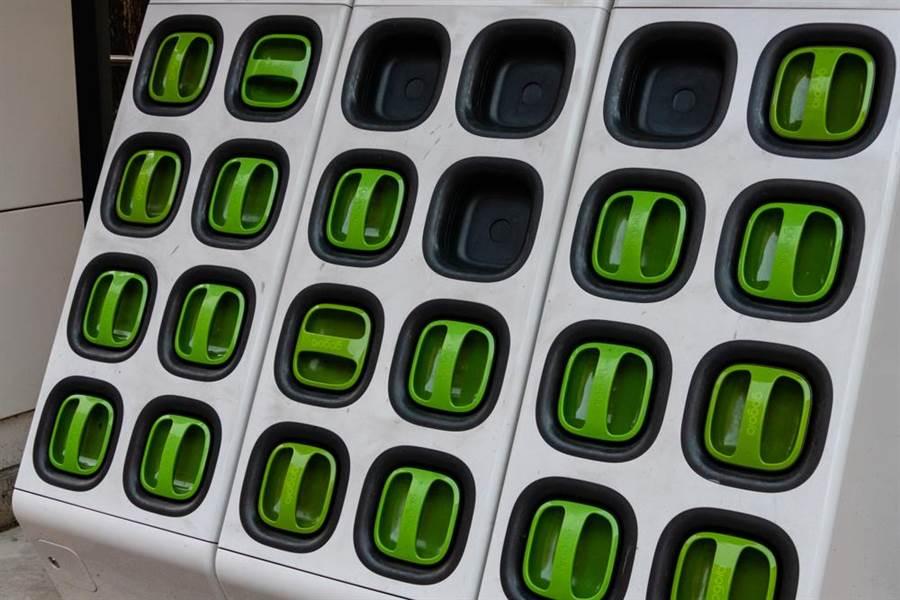 Gogoro開放式電池充電站外網爆紅! 老外驚:居然沒被偷?(示意圖/達志影像)