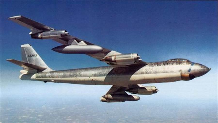 B-47轟炸機是美國空軍第一種大型噴射戰略轟炸機。(圖/美國空軍)