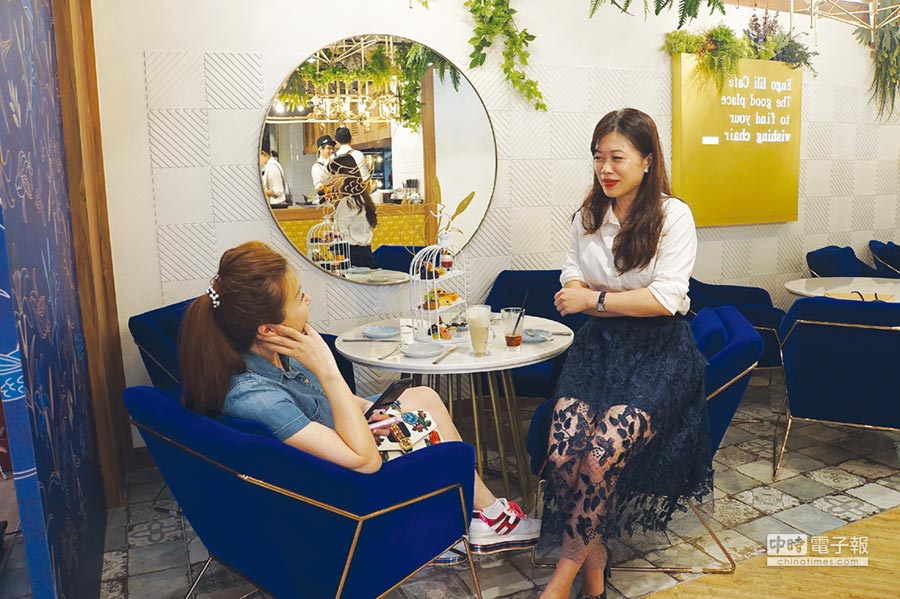 位在台北誠品生活南西館3樓的「Engolili英格莉莉輕食館」。製表、圖/姚舜