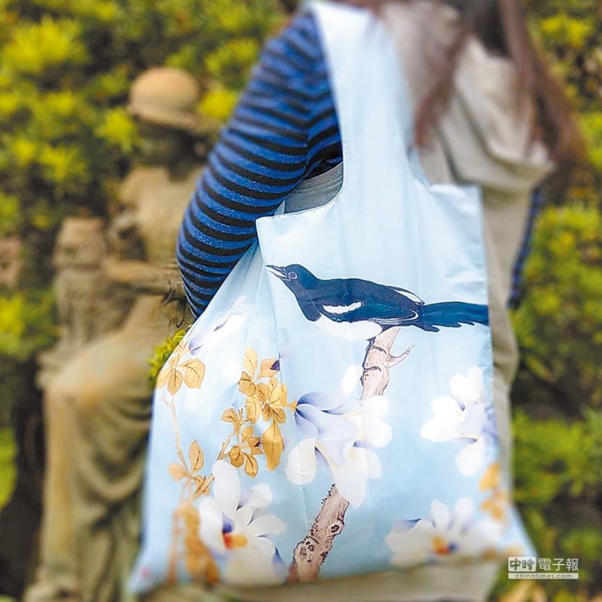 木蘭喜鵲環保袋。