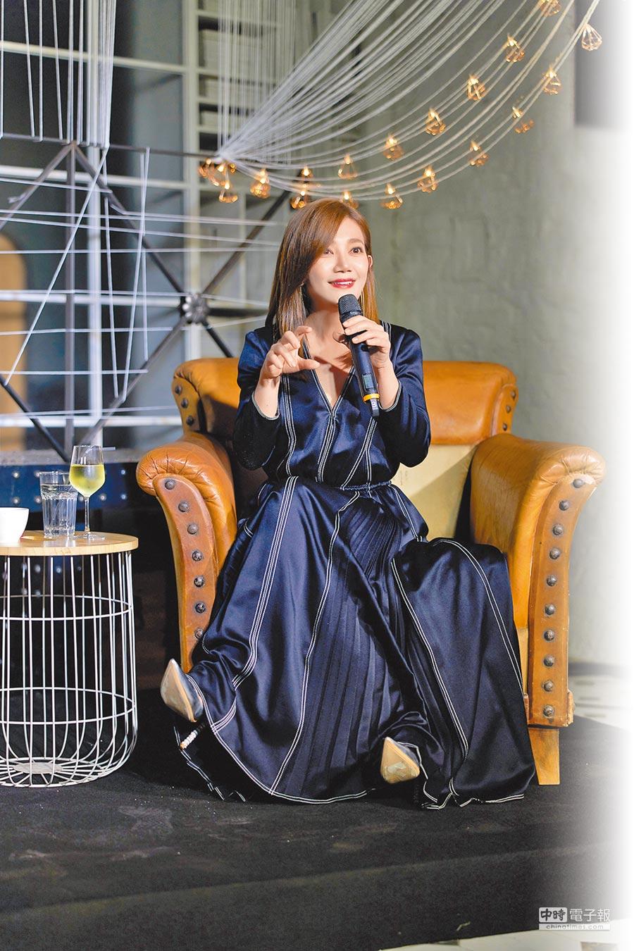 梁靜茹暌違7年回歸歌壇,被譽為療癒系情歌本格派天后。