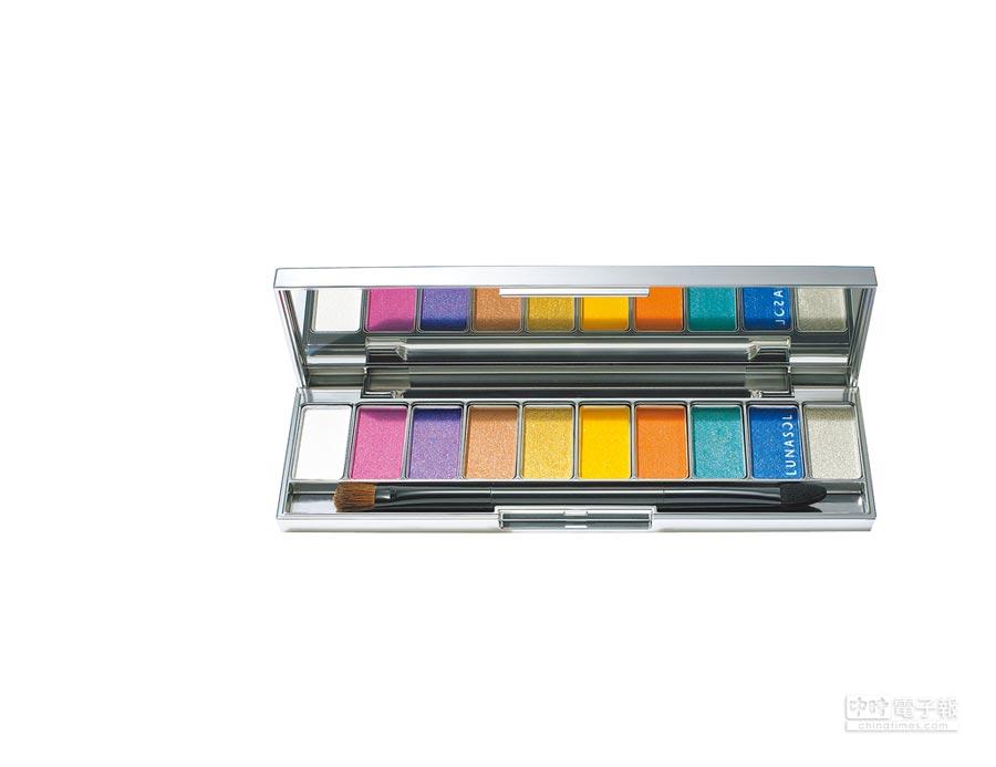 LUNASOL絢夏光色眼彩盤8g,3600元。(LUNASOL提供)