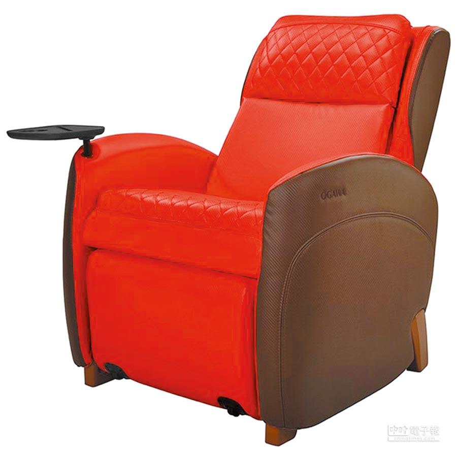 京站的靚沙發按摩椅(OG-5268),原價5萬5200元,5.4折特價2萬9800元。(京站提供)