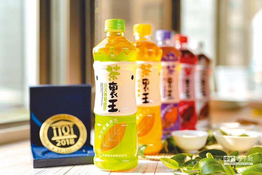 茶裏王新品單細胞生茶萃取技術升級,訴求最高9%回甘提升。(統一提供)