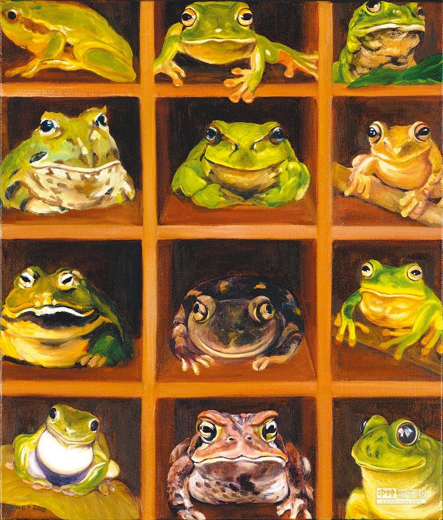青蛙王子⊙圖/童嘉