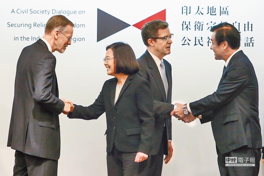 3月11日,「印太地區保衛宗教自由公民社會對話」首次在台灣舉行。(本報系資料照片)