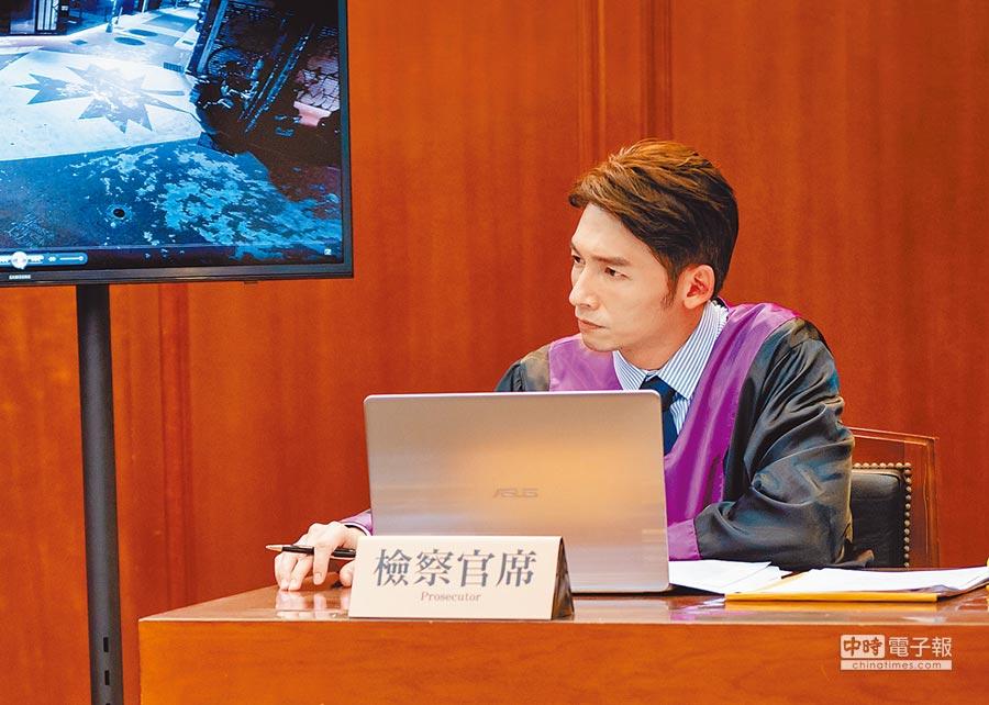 溫昇豪在《最佳利益》中接下許多難辦的案件。(本報系資料照片)