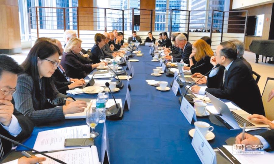 美國外交政策全國委員會(NCAFP)亞太安全論壇,邀請美中台學者專家對話。(取自NCAFP)