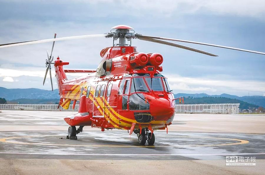 H215直升機。(取自中國直升機網)