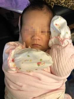 女嬰交給阿嬤養 一個月後的照片讓她跪了