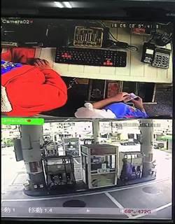 上班課尖峰時段 男亮刀洗劫加油站