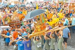 布袋廟會盛典 衝水路迎客王