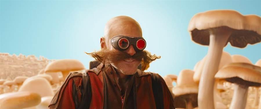 金凱瑞飾演反派蛋頭博士。(UIP提供)