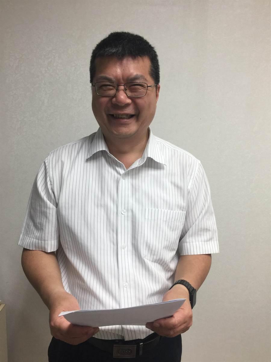 台大註冊組主任李宏森(簡立欣攝)