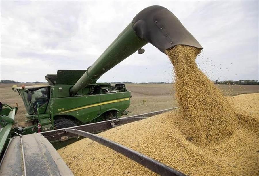 貿易戰對美國農業造成莫大衝擊。(美聯社資料照片)