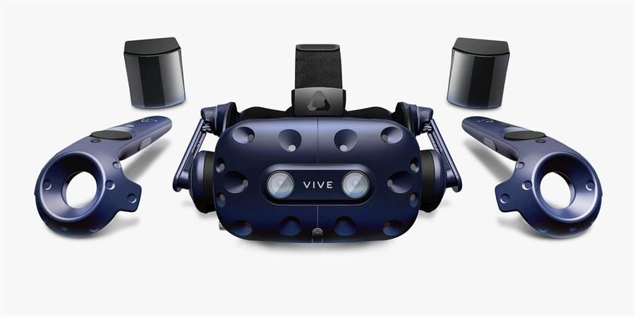 HTC Vive Pro。(圖/翻攝HTC官網)