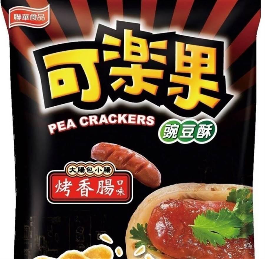 烤香腸口味可樂果 網勸:千萬別買(圖片取自/7-11官網)