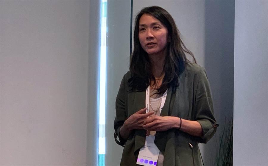 Facebook Groups 產品管理總監 Katherine Woo 。(圖/黃慧雯攝)