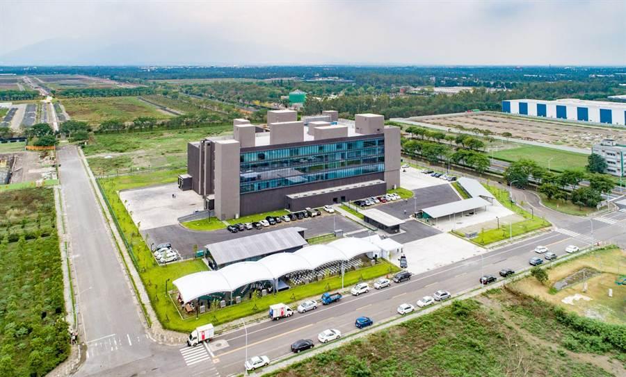 台畜的農科新廠位於屏東長治鄉屏東農業生物科技園區。(台畜提供)