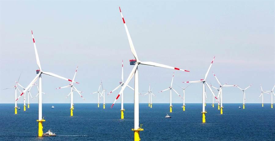 達德能源成功在德國設置離岸風力發電。(達德能源提供)
