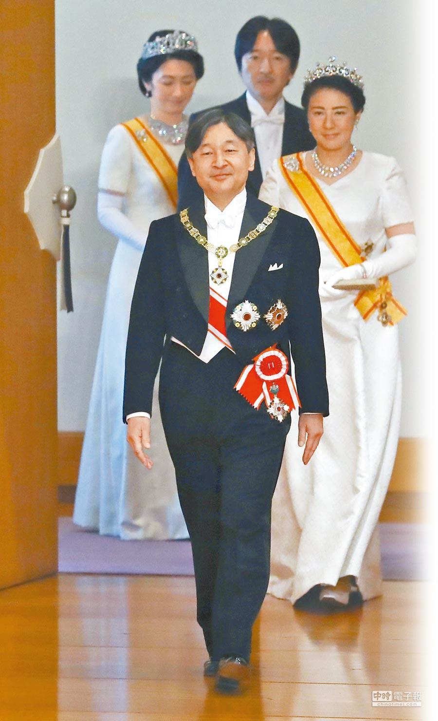 皇太子德仁5月1日登基成為第126代的日本天皇,他也是日本第1位戰後出生的天皇。(路透)