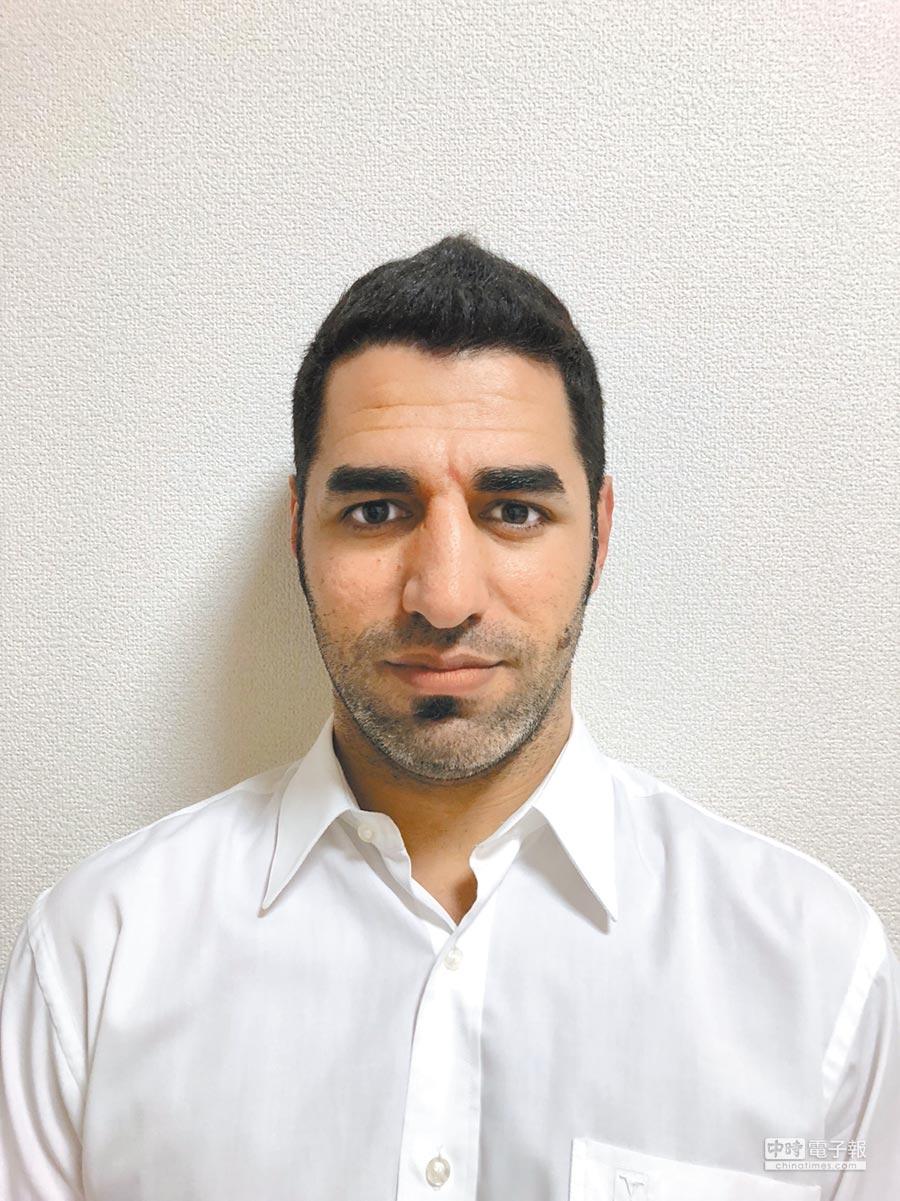 涉嫌殺害蕭姓夫婦的女婿、伊拉克男Ali Hammad Jumaah。(士林地檢署提供)