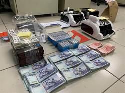 龜山警夜訪鐵皮屋 查獲職業賭場54名賭徒